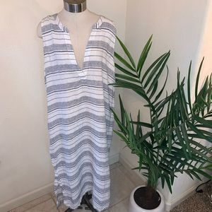 Athleta 100% linen dress
